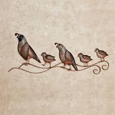 quail trail metal wall art multi earth on outdoor metal animal wall art with quail trail indoor outdoor metal wall art