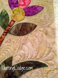 quilting around applique | quilts | Pinterest | Quilting designs ... & quilting around applique Adamdwight.com
