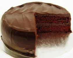 Simple Chocolate Cake With Ganache Frosting Anewscafecom