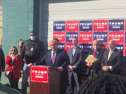 Последние твиты от rudy w. Owner Of Four Seasons Landscaping Trump Campaign Venue Gets Last Word