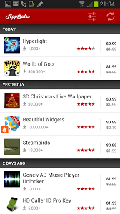 App Sales Appsales App For Android Highlights On Sale Store Apps Ghacks Tech