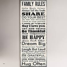 our family rules wall art luxury family rules canvas wall art wall with regard to most