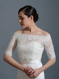 Off Shoulder Bridal Bolero Wedding Jacket Wj002 Bridal Bolero
