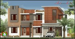 simple elevation house plan in below 2500 sq ft