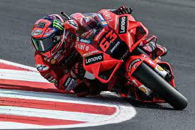 Bagnaia takes San Marino MotoGP pole with record lap - France 24