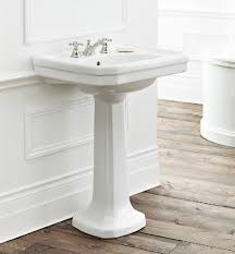 cheviot 511 20 wh 20 inch mayfair pedestal sink in white