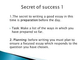 study support tutorial paper critical reading critical the secret to writing a good essay in this time is preparation before the