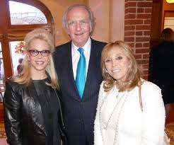 Sunny and Norm Brownstein (board member), left, with Iris Smith