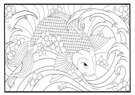 Small Picture koi fish coloring page 28 images printable fish coloring pages