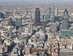London viewed from the top of the Shard. (Courtesy The Guardian)