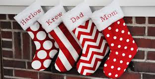 Handmade Christmas Stockings Decorate Christmas Stockings Home Design Ideas