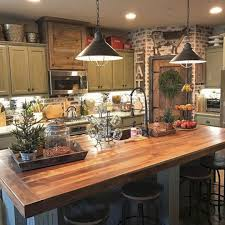 Rustic Farmhouse Kitchen Decorating Ideas 24 SPACES