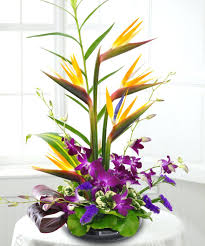 Tropical Flower Arrangements Tropical Beauty Floral Arrangement In Floral  Decorating Exotic Tropical Flower Arrangement Images