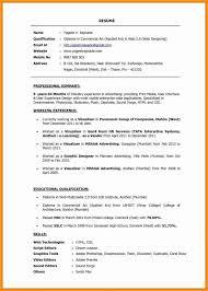 Free Usable Resume Templates