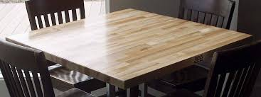 Dining table top Design Boos Dining Table Blendedgrain Style Butcher Block Co Wood Dining Table Tops John Boos Butcher Block