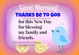 Good Morning And Thank You Quotes Best Of Christian Cards For You 242424