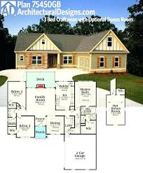 house plans with bonus rooms inspirational bungalow room over garage ranch style rambler basement and full