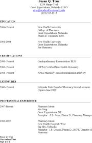96 Retail Pharmacist Resume Sample Essay Cover Letter