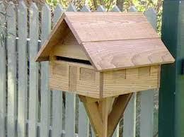 wooden mailbox designs. DIY Wood Mailbox Plans Wooden Designs