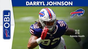 Darryl Johnson On His Season So Far   Buffalo Bills   One Bills Live -  YouTube