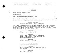Screenplay Structure Chart A Simple Guide To Formatting Television Scripts Screencraft
