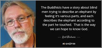 Kent Nerburn Quote The Buddhists Have A Story About Blind Men Stunning Images About Blind Men Quotes