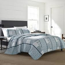 Buy Twin Quilts from Bed Bath & Beyond & Eddie Bauer® Windermere Twin Quilt Set in Navy Adamdwight.com