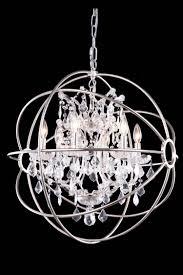 dazzling orb chandelier that enliven your home elegant crystal orb chandelier with up lights fixture