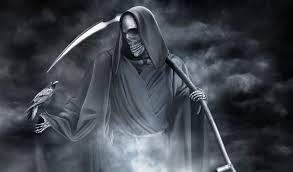 dark grim reaper wallpaper