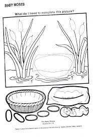 24 Baby Moses Coloring Page Compilation Free Coloring Pages Part 3