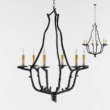 currey and company soothsayer chandelier lighting 3d model max obj fbx mtl unitypackage mat 1