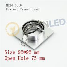 halogen mounting frame led bracket halogen led spotlights frame led light fixtures