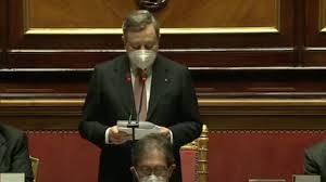 Governo, oggi il voto di fiducia in Senato: il discorso di Draghi