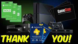 giveaway ps4 giftcards xbox 1 giftcards gamestop giftcards more 6 001 subscribers