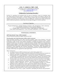 Cover Letter Sample Cio Resumes Sample Cio Resume Doc Sample Cio