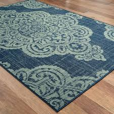 outdoor medallion rug over scale medallion navy beige indoor outdoor area rug blue medallion outdoor rug