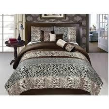 giraffe print bedding luxury animal print safari design comforter set animal print king bedding sets animal