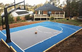 customisable basketball courts triple threat set by msf sports