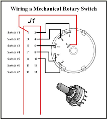 the desktop aviator wiring and installing the model  just like the wiring of multiple toggle switches seen above we can use just 1 common wire ground and 5 control wires take a rotary switch and turn