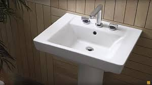 bathroom pedestal sinks. Video:Luxury Pedestal Sinks By American Standard Bathroom