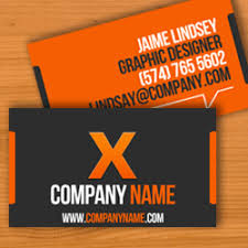 X Business Card Template For Pages Free Iwork Templates