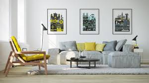 Lounge Chairs For Living Room Gray And Yellow Living Room Lounge Chair Pillow Sofa Area Rug