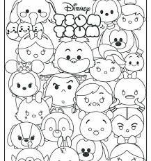 Disney Tsum Tsum Coloring Pages Raovat24hinfo