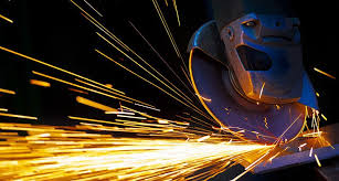 Metal Spark Test Chart Metal Spark Sparks From A Metal Cutting Circular Saw Metal