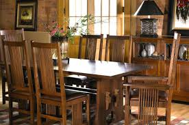 mission dining table room chairs set designs mission dining table