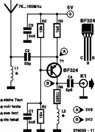 fm radio receiver antenna booster circuit wideband fm radio receiver preamplifier circuit schematic