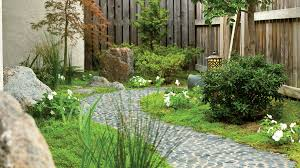 Small Picture Landscaping Ideas with Stone Sunset