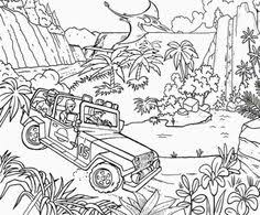 Small Picture Printable Jurassic Park 13 Coloring Page Dinosaurs Pinterest