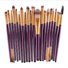 20pcs 6 colors soft amazing eye makeup brushes professional cosmetic make up brush set uk in makeup brushes tools from beauty health on aliexpress