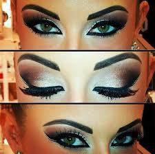 eye makeup arabic eye makeup gold smokey eye makeup perfect for a desi bride